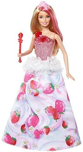 Barbie księżniczka lalka magiczne melodie - kraina słodkości DYX28