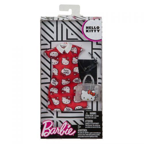 Barbie - ubranka dla lalek barbie  z ulubieńcami komplet FKR67