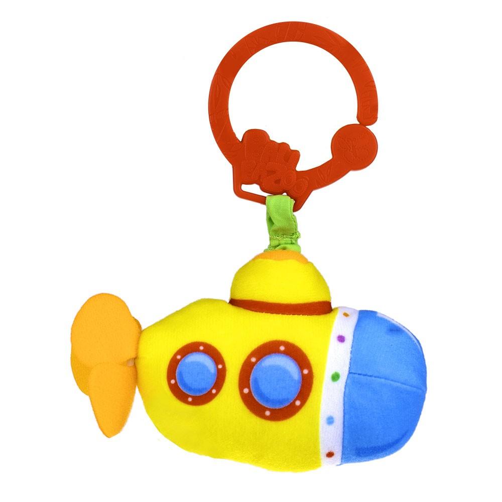 Zawieszka do fotelika i wózka dziecięćego z wibracją Łódź podwodna BaliBaZoo Dumel
