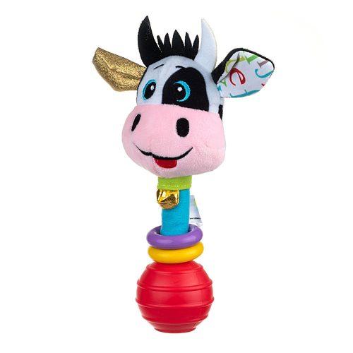 Grzechotka dla dziecka Krowa Clara pluszowa BaliBaZoo Dumel