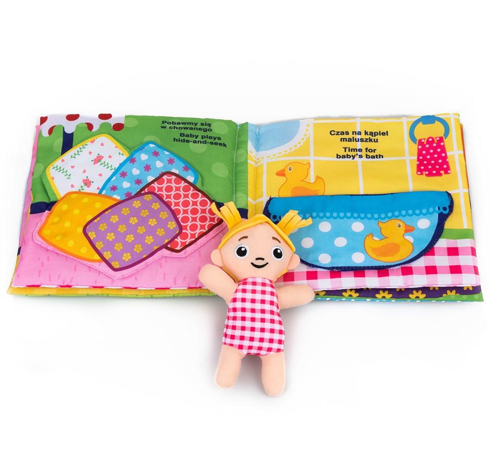 Miekka książeczka edukacyjna dla dzieci Dom pełen zabaw Dumel