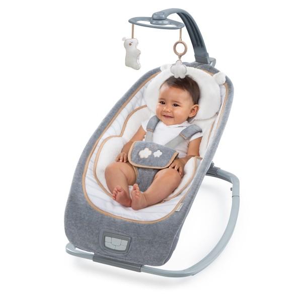 Leżaczek dla niemowląt z karuzelą  BS10986 Bright Stars Owieczka