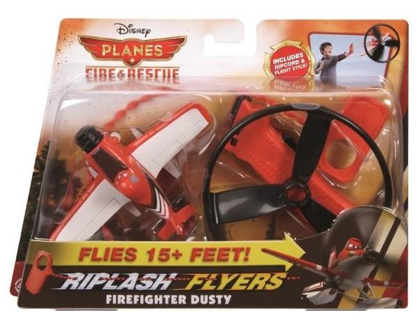 Nakręcany skiper samolot Fire and Rescue BGP09 czerwony