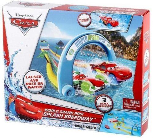 Cars 2 Trudny tor Mattel - zabawka do wanny