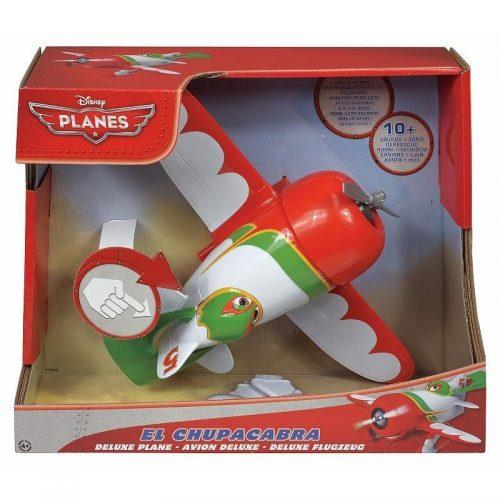Interaktywny samolot naciskany z dźwiękiem Cars Planes Mattel Y5601 El Chupacabra