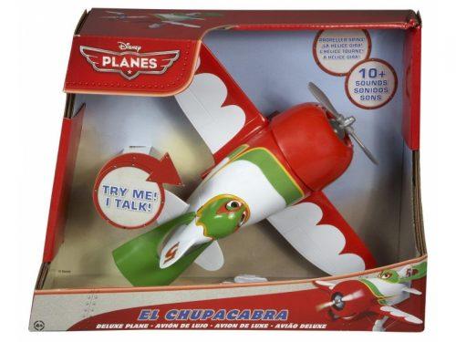 Interaktywny samolot naciskany z dźwiękiem Cars Planes Mattel Y5601 El Chupacabra Y5604