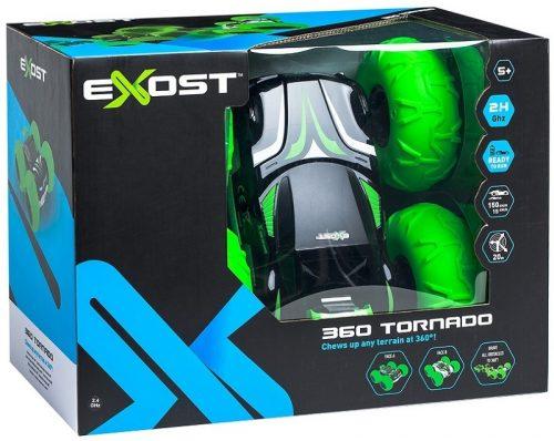 Zdalnie sterowany Pojazd 360 Tornado Exost zielonyTE142