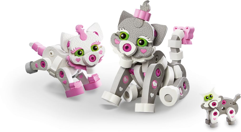 Przestrzenne puzle 3D kotki Dumel DD20003