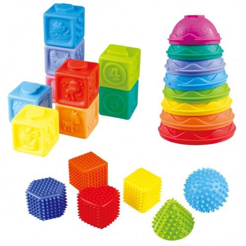 Piłka sensoryczna piramidka dla dzieci DD24086 Dumel
