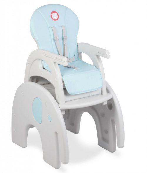 Krzesełko do karmeinia dwufunkcyjne Lionelo Eli Blue
