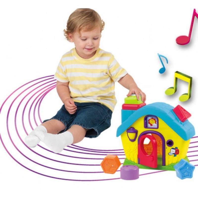 Dumel Domek sorter kształtów zabawka DD42460