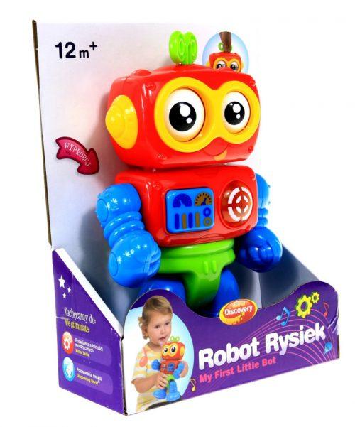 Robot Rysiek  Dumel DD42637 zabawka edukacyjna