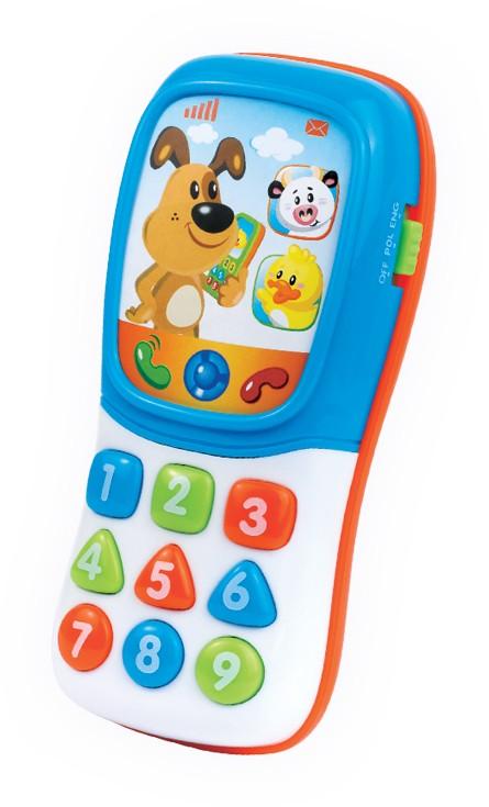 Dumel  grający telefon Zwierzątka DD42667