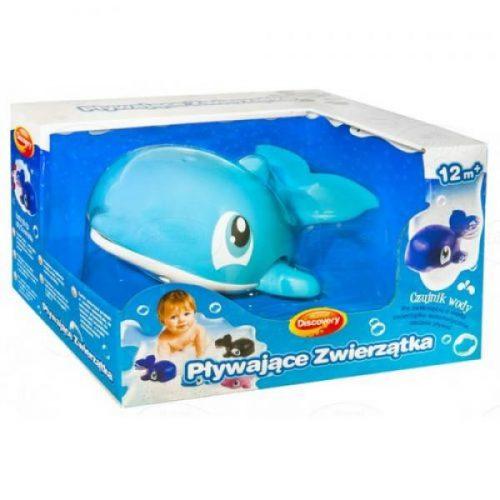 Zabawka do kąpieli pływające zwierzątka do wanny Dumel 12m+ DD431 błękitne