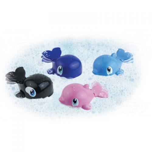 Zabawka do kąpieli pływające zwierzątka do wanny Dumel 12m+ DD431 Czarny