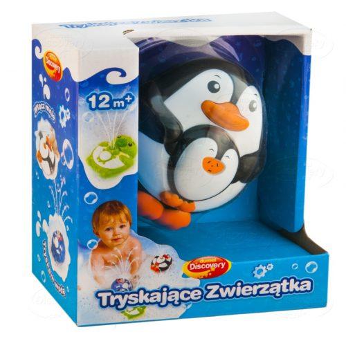 Tryskające zwierzątka do kąpieli Dumel DD4305 zabawki kąpielowe dla dzieci 12m+ Pingwin