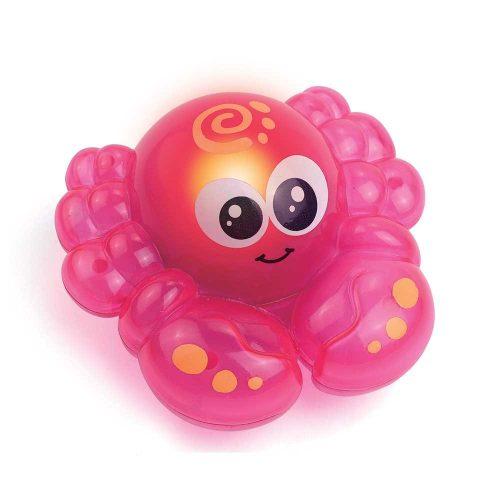 Świecące zwierzątka do kąpieli DumelDD4310 zabawki do wanny 12m+ Czerwony