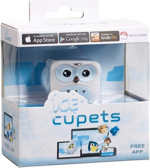 Interaktywne zwierzaki Cupets zabawka z aplikacją na telefon smartfon tablet Wężuś