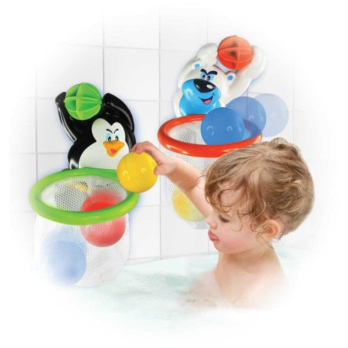Zabawla do kąpieli polarna koszkówka Miś Dumel DD43350 Miś