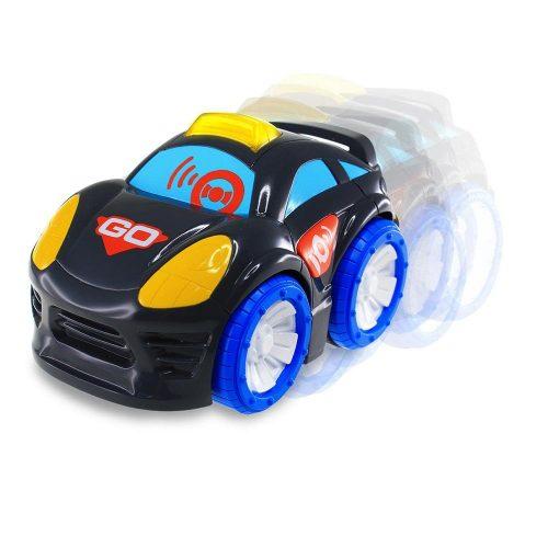 Dumel DD45327 Odjazdowe autko z  dźwiękiem i światłem czarne