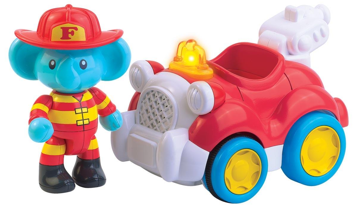 Wóz Strażacki Florka samochód wydający dźwieki Dumel DD45357