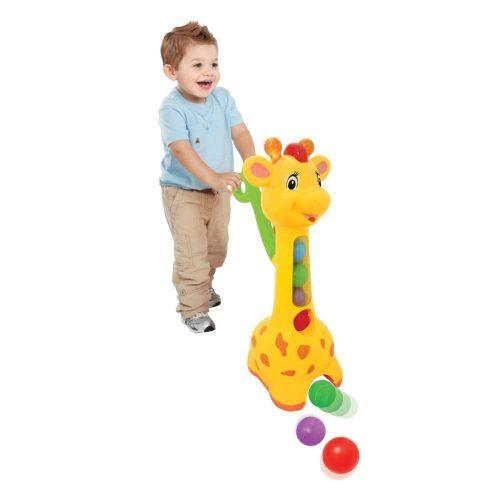 Dumel Żyrafa Piłeczkowy pościg DD52365 zbieraj piłki