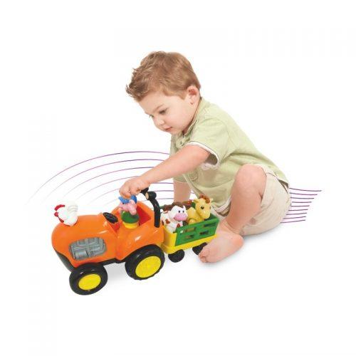 Dume DD52746l Traktor wesołe ranczo zwierzaki + muzyczny traktor z przyczepą