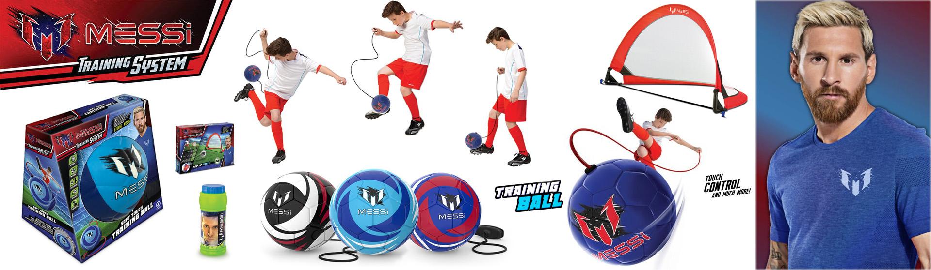 Piłka treningowa Messi 15 cm miękka Dumel czerwona MK0044A