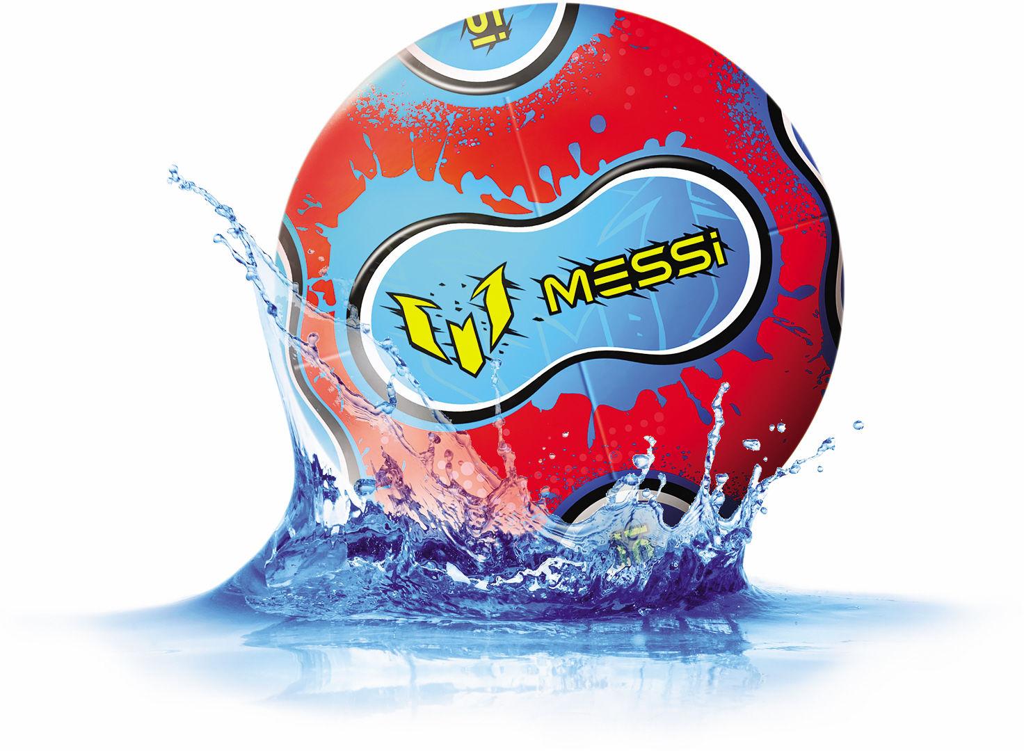 Piłka nepronowa Messi intensywny trening Dumel 21cm MK0072A1  zielony