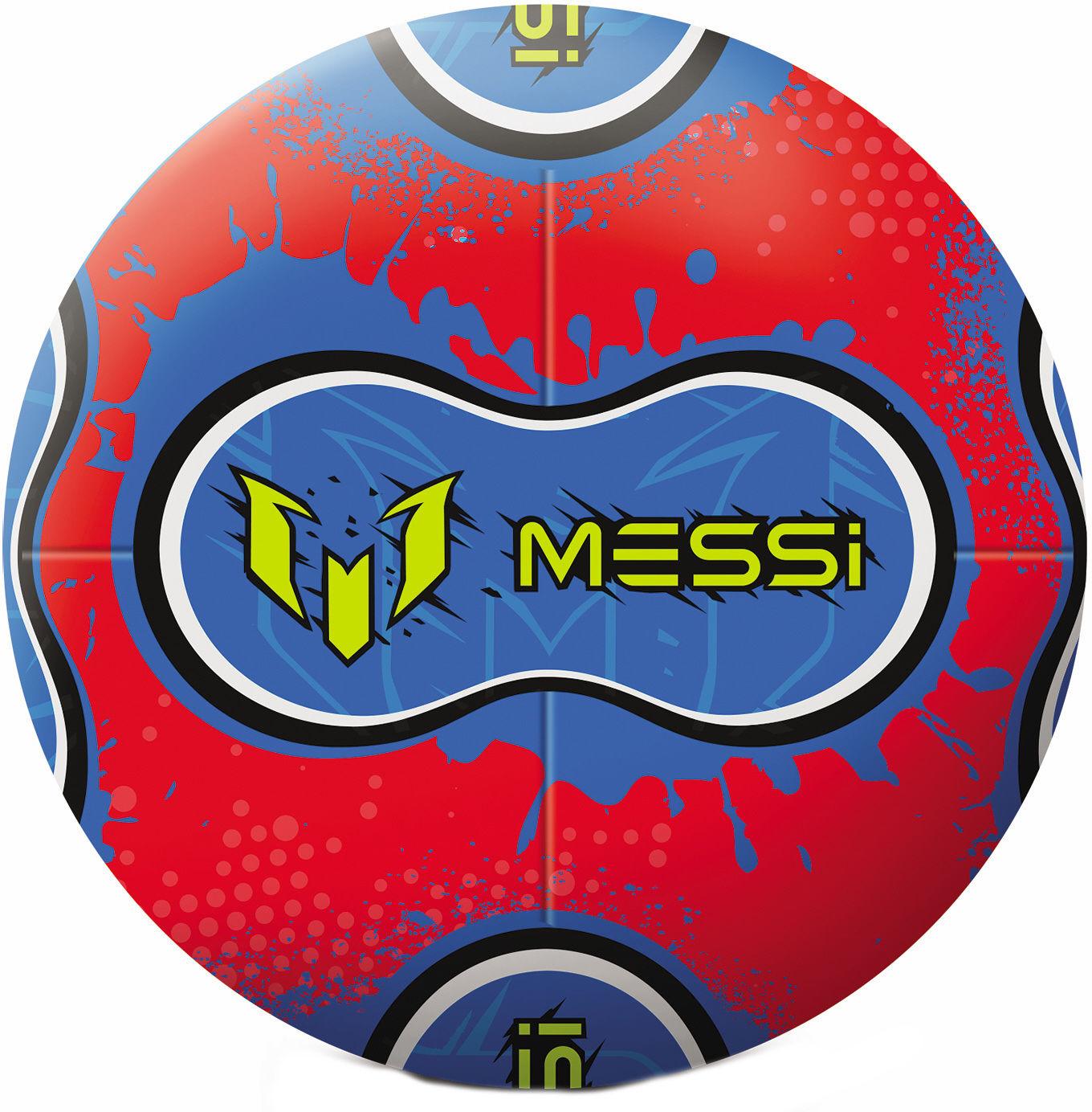 Piłka nepronowa Messi intensywny trening Dumel 21cm MK0072A1  czerwony