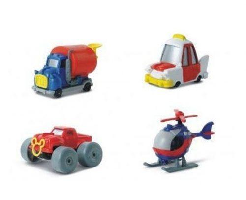Mattel Autka Disney w skali 1:64 MD-6820C Taxi
