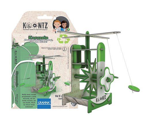 Edukacyjne puzzle 3D - Karuzela Granna Koontz - od 8 lat