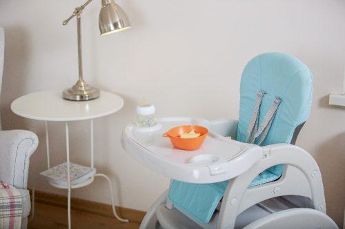 Krzesełko do karmeinia Lionelo Eli Grey 2w1 krzesełko + stoliczek