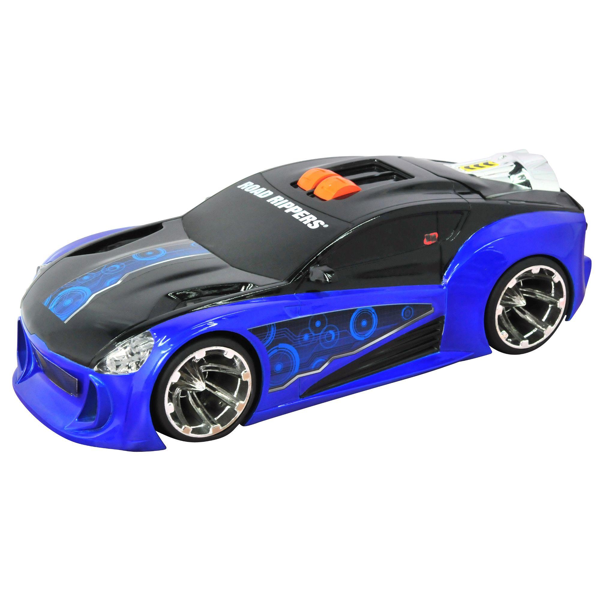 Road Rippers Auto Maximum Boost samochód z napędem niebieski dźwiek i światło 33347