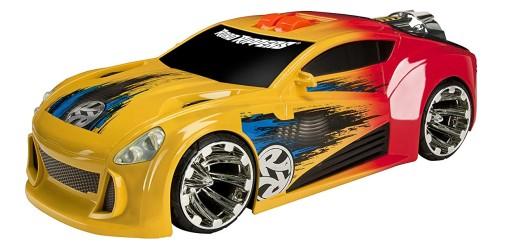 Road Rippers Auto Maximum Boost czerwony żółty samochód z napędem