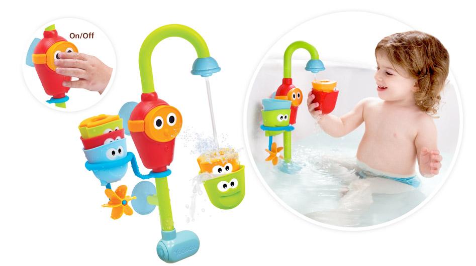 Wesoły Kranik  Yookidoo  zabawki do wanny na baterie HIT dla dzieci