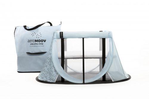 Składane łóżeczko turystyczne Travel Cot Aeromoov Blue mountanin