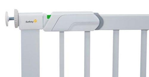 Zastawka Flat Step drzwiowa bramka do schodów Biała Safety1St
