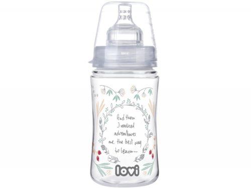 Butelka do karmienia niemowląt Indian Summer 240 ml Lovi smoczek 3+ 21 580