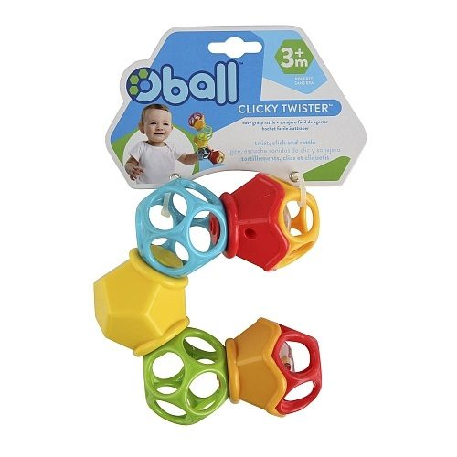 Grzechotka dla dziecka Oball Twister OB10731