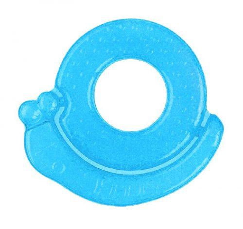 Chłodzący gryzak żelowy Ślimak BabyOno 3m+ Niebieski
