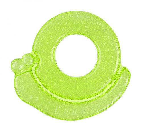 Chłodzący gryzak żelowy Ślimak BabyOno 3m+ Zielony