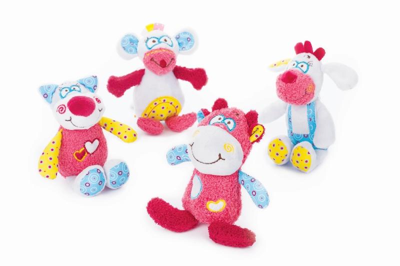 BabyOno Karuzela Rosie & Friends pluszowa 0m+karuzela nad łóżeczko