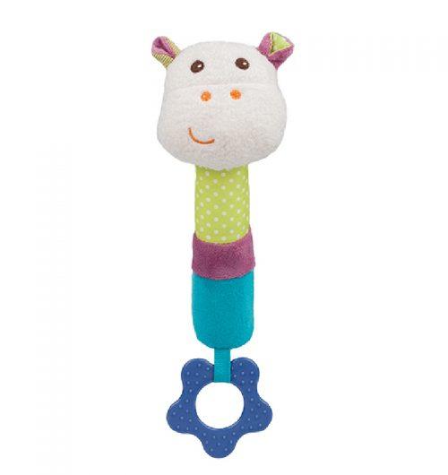 Zabawka piszcząca z gryzakiem BabyOno - Mickey piszczek