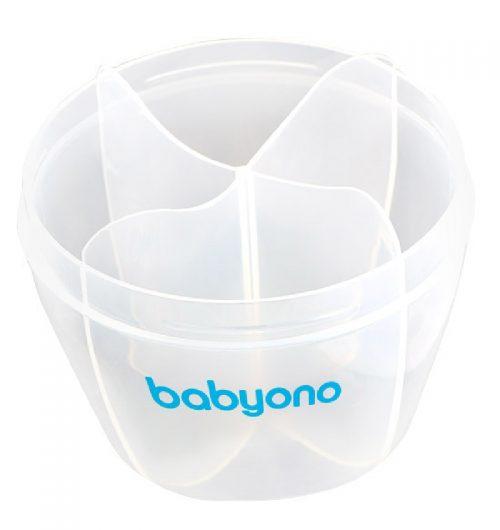 Pojemnik na mleko w proszku BabyOno na 4 porcje