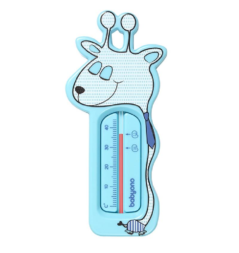 Termometr pływający do kąpieli Żyrafa BabyOno Niebieski