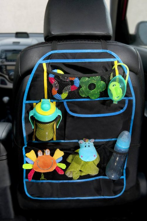 Funkcjonalny orgarnizer samochodowy BabyOno ochraniacz fotela