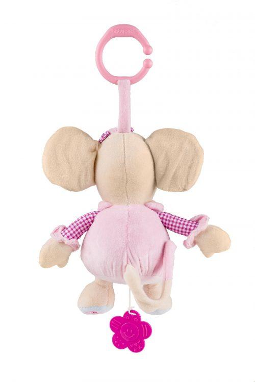 Pozytywka welurowa Myszka BabyOno zabawka dla dziecka