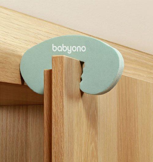 BabyOno Blokada drzwi blokowanie drzwi przed zamykaniem