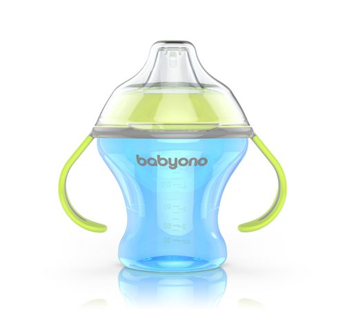 BabyOno Uchwyt do butelki Niebieski